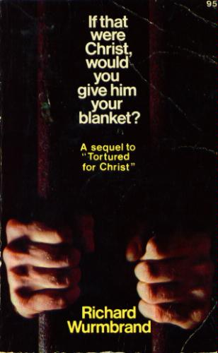 If That Were Christ would you give Him Your blanket?